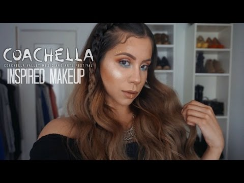 FESTIVAL MAKEUP + HAIR / COACHELLA INSPIRED