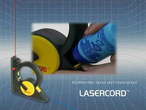 Lasercord ® - The laser chalk line
