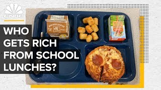 How Brands Like Domino's Profit From School Lunch