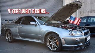 Buying a Nissan R34 GTR in Japan!
