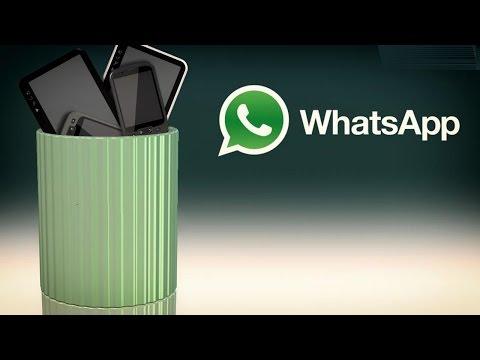 No more WhatsApp on BlackBerry & Nokia Platforms