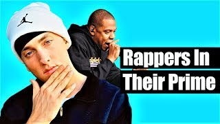 Rappers In Their Prime Vs. Their Worst Vs. Now