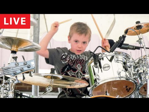 Xxx Mp4 WIPE OUT LIVE 6 Year Old Drummer 3gp Sex