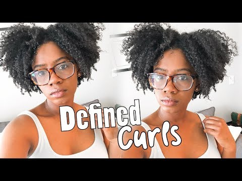 My Most Defined Wash N Go EVER!!! ft. Obia Naturals