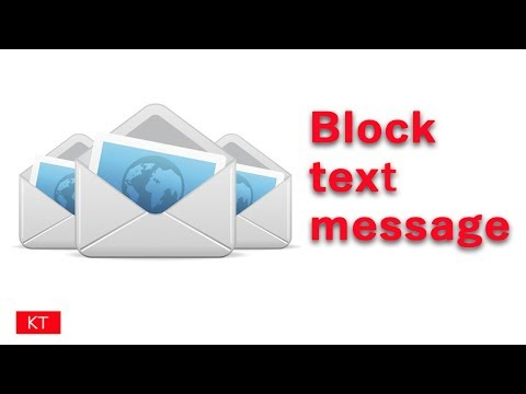 How can you easily block text messages on iPhone from an unknown number