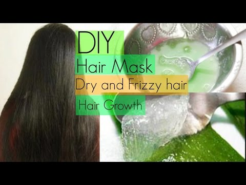 DIY: Hair Mask for Dry Frizzy and Fast Hair Growth | InsideBeautyNo1