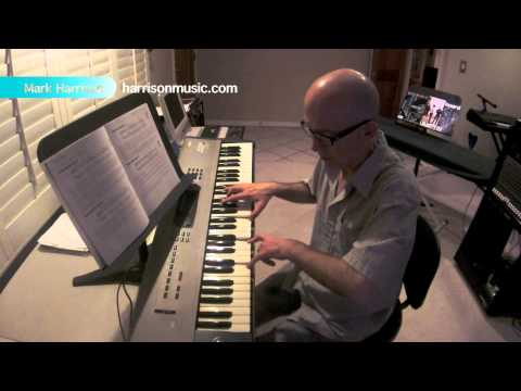 Rock Piano Chops Lesson by Mark Harrison