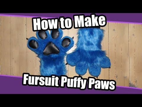 //Tutorial #12// Puffy Hand Paws