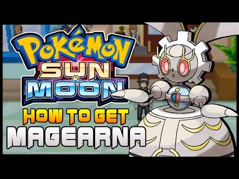 Cheat code Legendary Pokemon Magearna, Pokemon Moon GBA