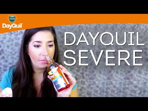 Vicks Liquid Cold Medicine Review: DayQuil SEVERE Cold & Flu Relief Liquid