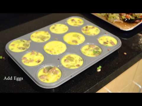 Turkey Sausage Egg Muffins