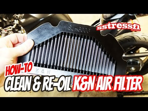 How-To Clean and Re-Oil a K&N Air Filter | Car or Motorcycle | Do It Yourself