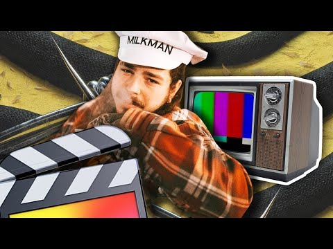 Post Malone Vintage TV Effect - Final Cut Pro X (Throwback Thursday's)