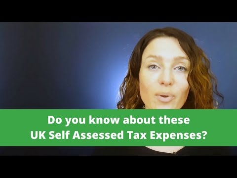 UK Self Assessed  Expenses you NEED to know