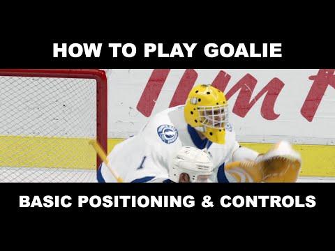 NHL 16 EASHL Goalie Tips - Basic Positioning & Controls