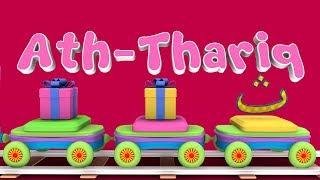 Animation 3D Juz Amma Ath Thariq Recite Quran Children with battar trains hijaiyah by abata chann
