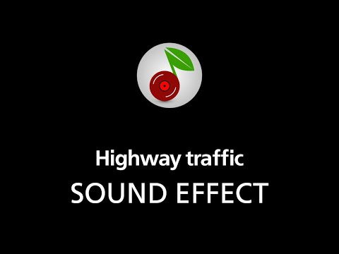 🎧 Highway traffic LOOPED SOUND EFFECT