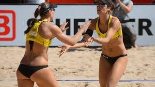 Liliana/Baquerizo (ESP) vs. Turnerova/Tomasekova (SVK) - Den Haag - World Championships 2015