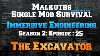 immersive engineering excavator tutorial | GulluTube