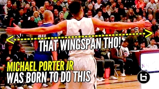 Michael Porter Jr 52 Points & 23 Rebounds...HE WAS BORN TO DO THIS! Full Highlights!