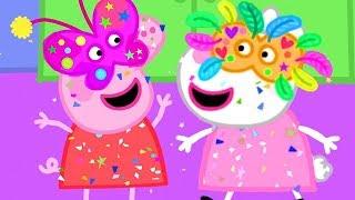 Download Свинка Пеппа на русском все серии подряд ❤️ карнавал! 🎉 Мультики Video