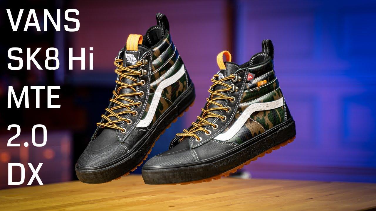 New Vans Sk8 Hi MTE 2.0 DX Review & On Feet