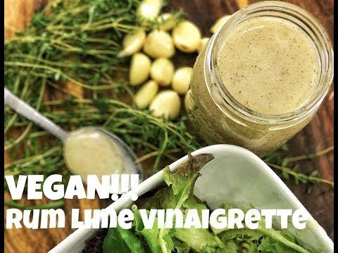 Vegan Rum Lime Vinaigrette