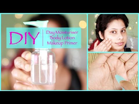 All Day Face Moisturiser || Body Lotion || Makeup Primer [DIY]