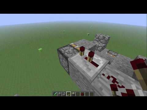#Minecraft 1.7.4 Working Piston elevator