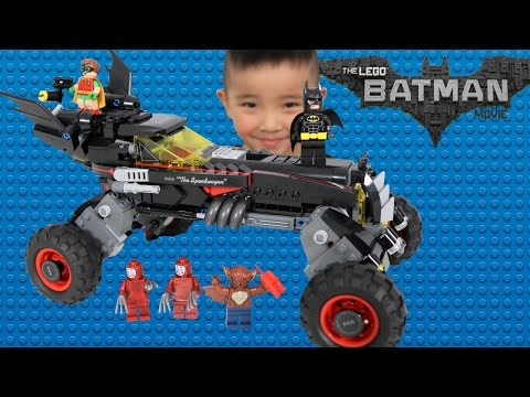 LEGO Batman Movie The Batmobile Set Toys Unboxing And Assembling Fun With Ckn Toys