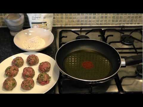 Meatballs beef mince & cinnamon How to make recipe