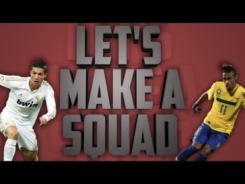 Fifa 12 Ultimate Team II Let's Make a Squad! II Unique 5 League 6 Nation Hybrid!