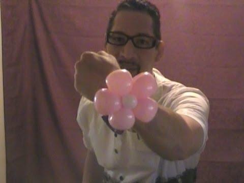 BEAUTIFUL FLOWER BALLOON BRACELET - Balloon Animal