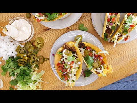Rachael's Hard Shell Red Eye Tacos