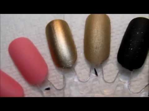 DIY  MAKE MATTE TOP COAT ---USING ----CORNSTARCH--- YES , my nails are SCARY ! LOL