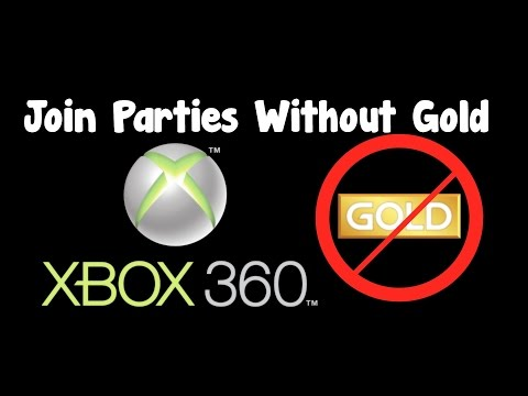 Join Xbox Live Parties Without Gold Membership