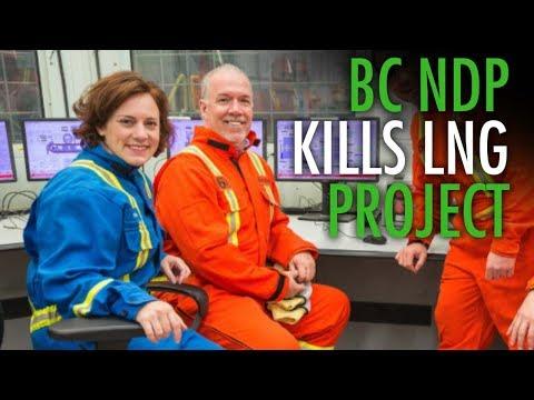 Docs reveal how BC NDP handled massive LNG cancellation