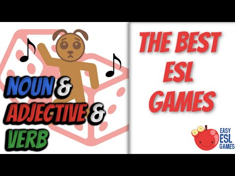 How to use dice to build English vocabulary  - Easy ESL Games teaching tip #6