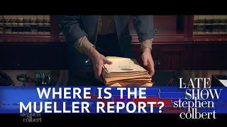 William Barr's Plan For The Mueller Report