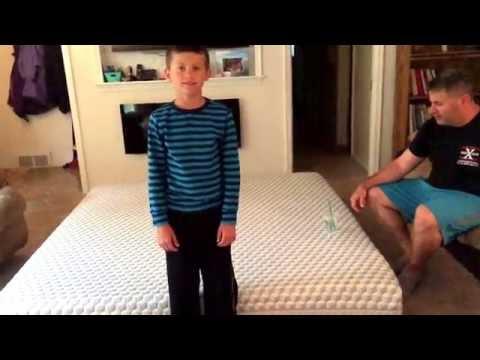 Layla Sleep Mattress Motion Isolation Test - Will The Water Spill?