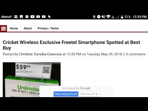 EXCLUSIVE NEW CRICKET WIRELESS FREETELL PHONE CALLED CRICKET WAVE IN BEST BUY NOW!