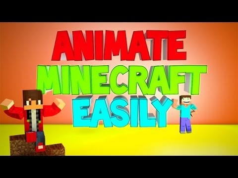 Cinema 4D Tutorial : Simply Animate Minecraft (Easy & Explained Tutorial for Beginners!)