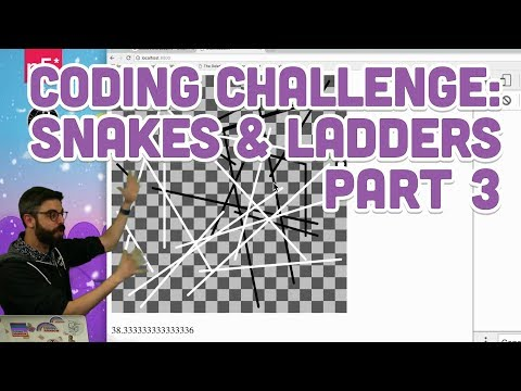 Coding Challenge #91.3: Snakes & Ladders - Part 3