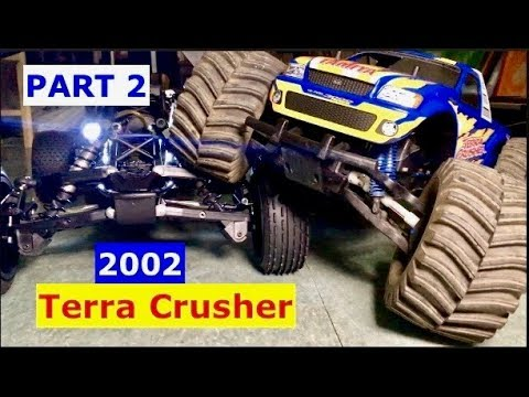 2002 Tamiya Terra Crusher - FIRST START after overhaul and History Lesson (part 2)