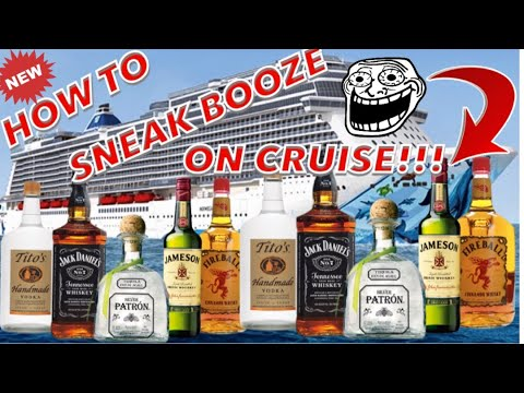 How to Sneak Booze on a Cruise (5 easy steps)