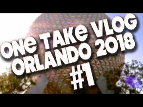 ORLANDO 2018 - MINI VLOG - DAY ONE