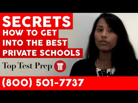 How to Get Accepted to Best Private Schools - Secrets - TopTestPrep.com