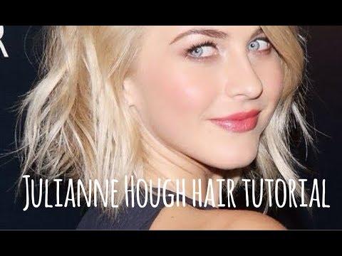 Julianne Hough Short Hair Tutorial