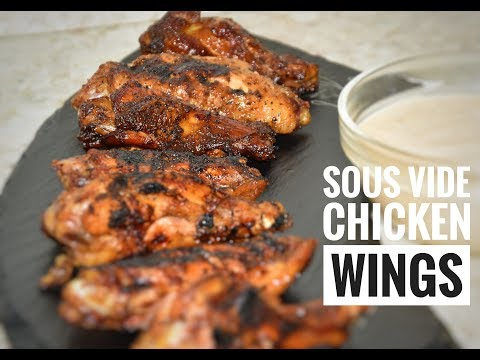 Sous Vide Chicken Wings Recipe - Immersion Circulator Recipes