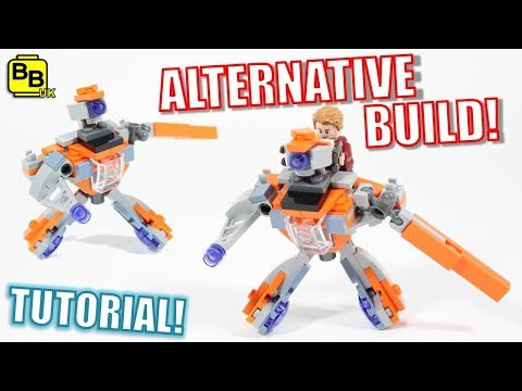 LEGO AVENGERS INFINITY WAR 30525 ALTERNATIVE BUILD GUARDIAN MECH!